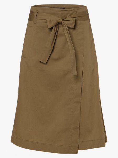 Beżowa spódnica z paskiem Franco Callegari
