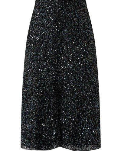 Czarna spódnica rozkloszowana koronkowa Lace & Beads