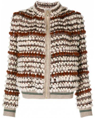 Куртка кашемировая норковая Cara Mila