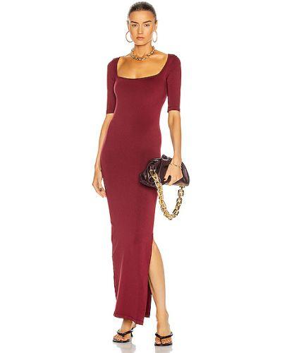 Czerwona sukienka z nylonu Simon Miller