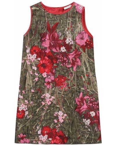 Платье мини с розами Dolce & Gabbana