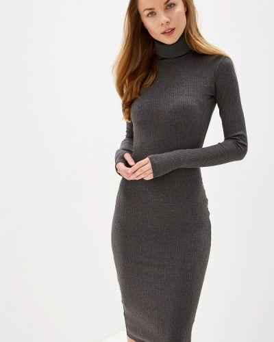 Платье серое вязаное Trendyangel