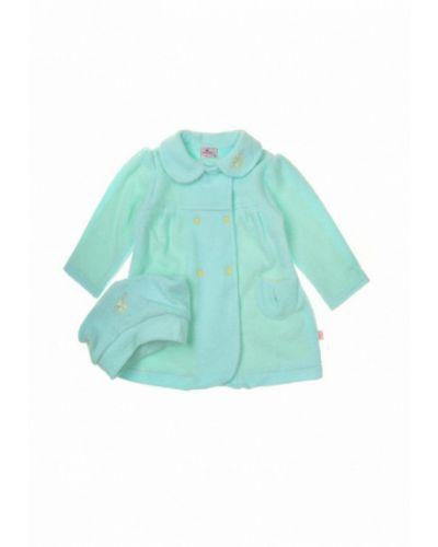 Пальто бирюзовый набор фламинго текстиль