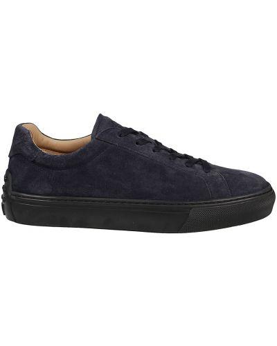 Niebieskie sneakersy Tod's