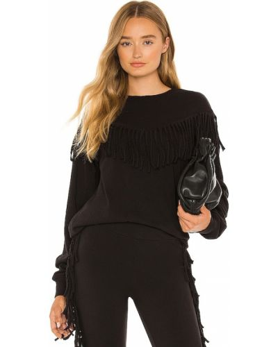 Хлопковый свитшот - черный Wildfox Couture