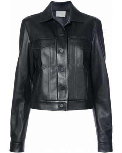 Черная куртка на пуговицах Dion Lee