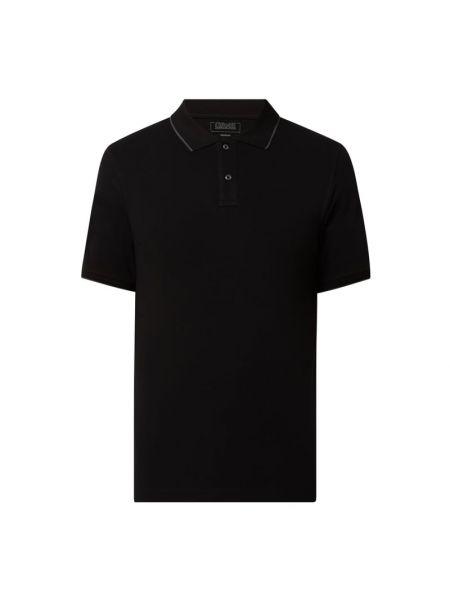 T-shirt bawełniana - czarna Cinque