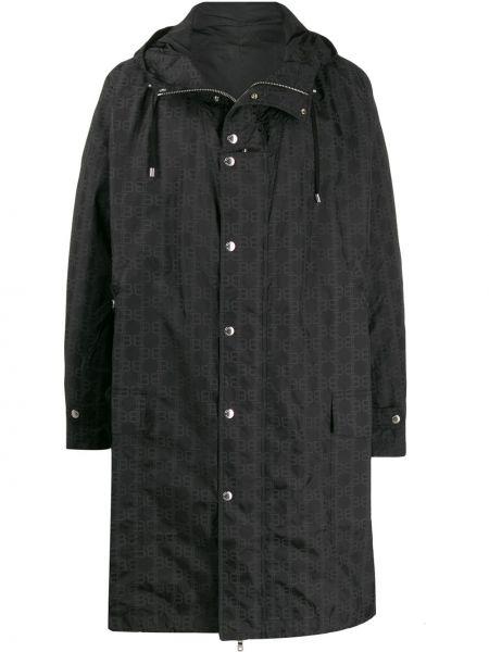 Płaszcz przeciwdeszczowy z kieszeniami długo Balmain