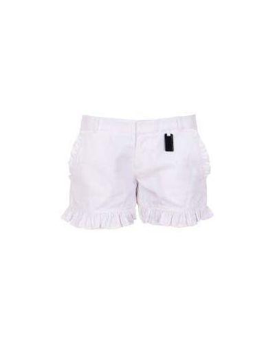Повседневные хлопковые белые шорты Thomas Wylde