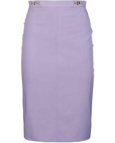 Spódnica - fioletowa Elisabetta Franchi