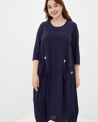 Повседневное платье - синее Prewoman