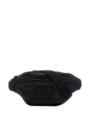 Спортивная поясная сумка - черная Goldbergh