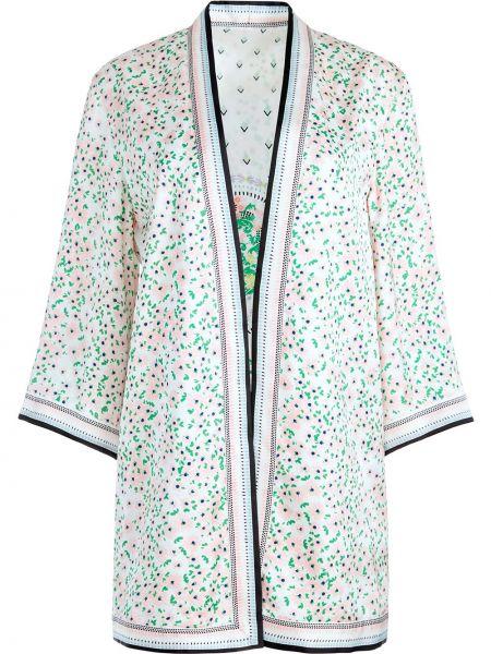 Белая куртка двусторонняя с принтом Alice+olivia