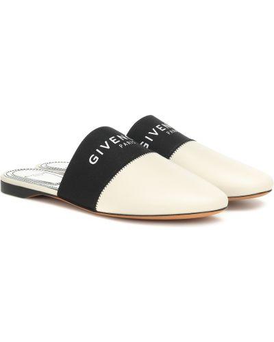 Тапочки итальянские бежевые Givenchy