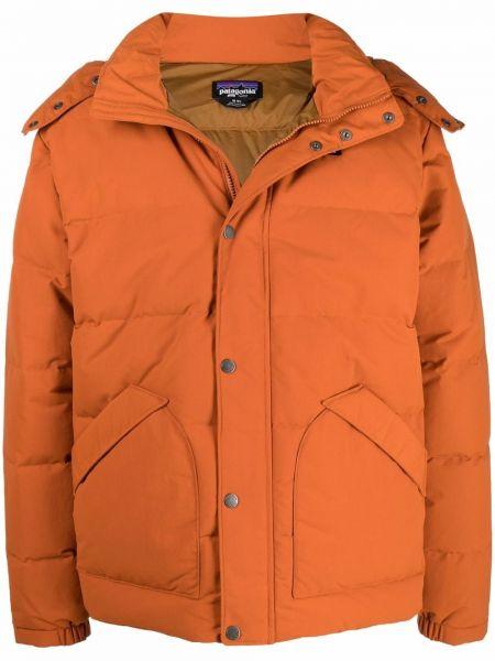 Куртка с капюшоном - оранжевая Patagonia
