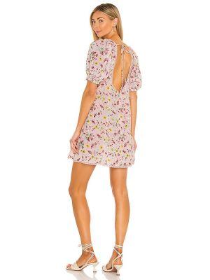 Шелковое бежевое кружевное платье Lpa