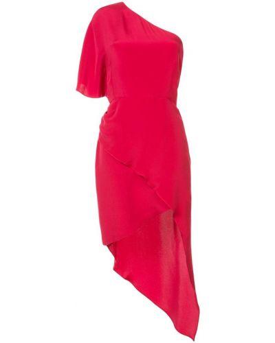 Платье на одно плечо шелковое Haney
