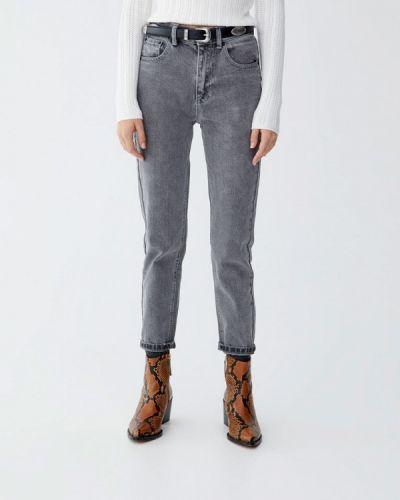 Серые джинсы Pull&bear