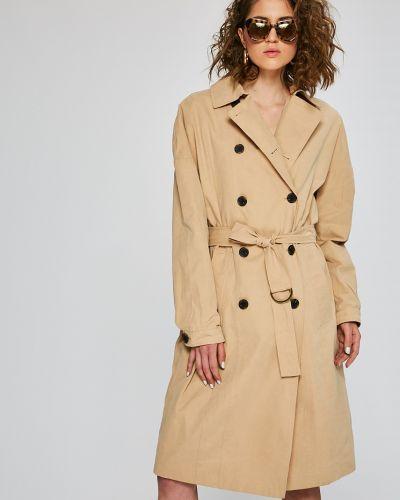 Утепленная куртка прямая в полоску Review