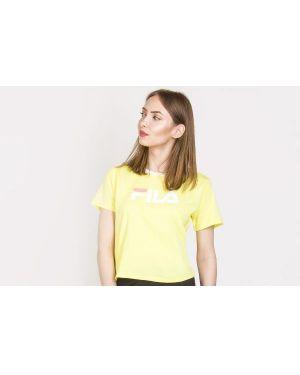 T-shirt bawełniana - żółta Fila
