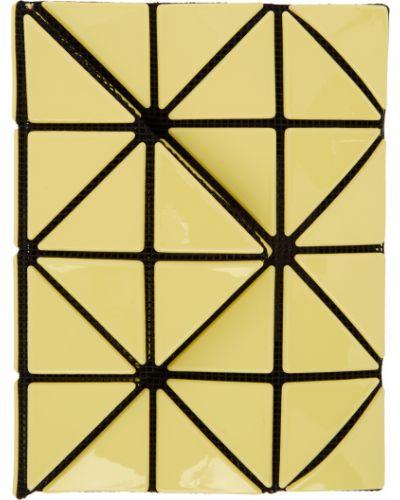 Czarny portfel z nylonu z siateczką Bao Bao Issey Miyake