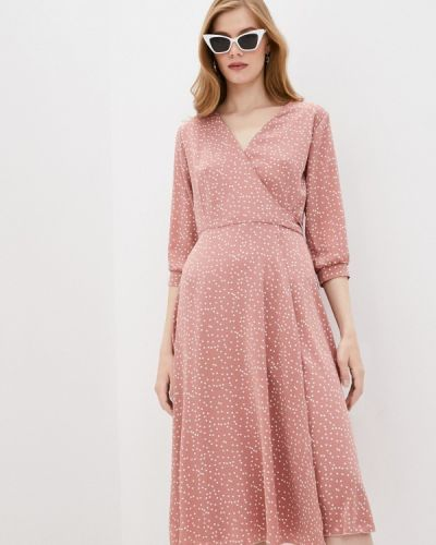 Розовое платье Pinkkarrot