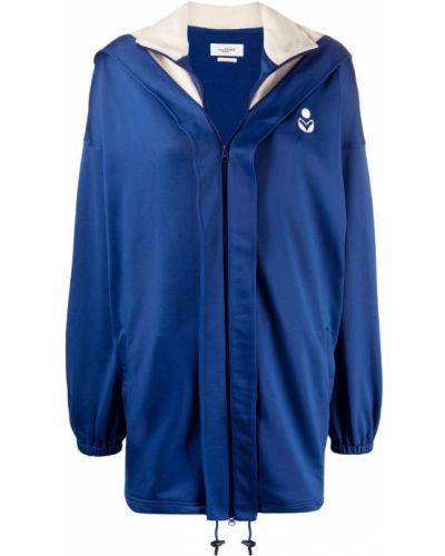 Синяя длинная куртка Isabel Marant étoile
