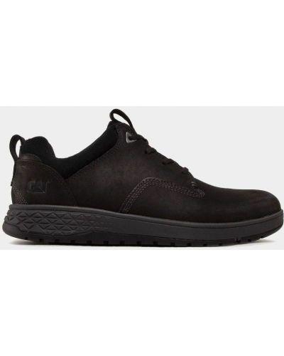 Кожаные кроссовки - черные Caterpillar