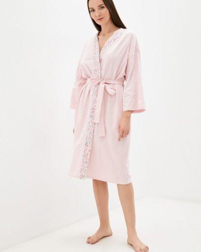 Домашний халат - розовый Nymos