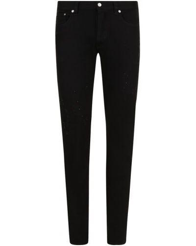 Прямые джинсы с карманами с надписью Givenchy