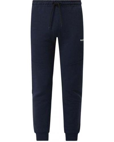 Niebieskie spodnie dresowe bawełniane Raizzed