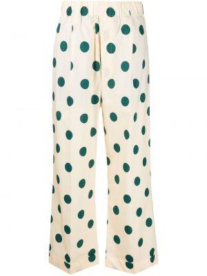 Свободные хлопковые брюки с поясом Jejia