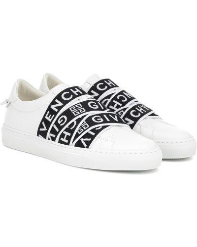 Кожаные кроссовки белый повседневные Givenchy