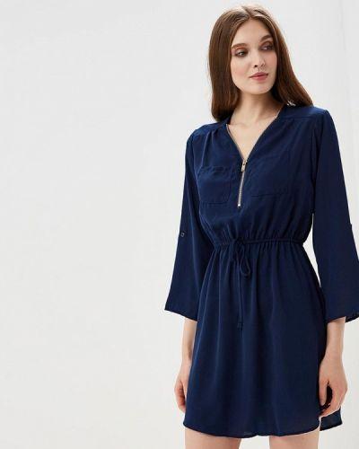Платье весеннее синее Piazza Italia