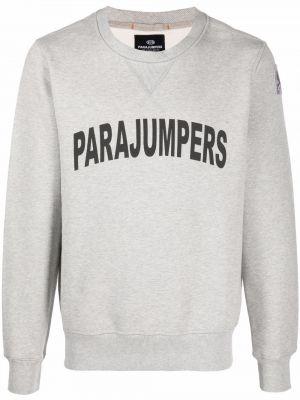 Хлопковый свитшот - серый Parajumpers