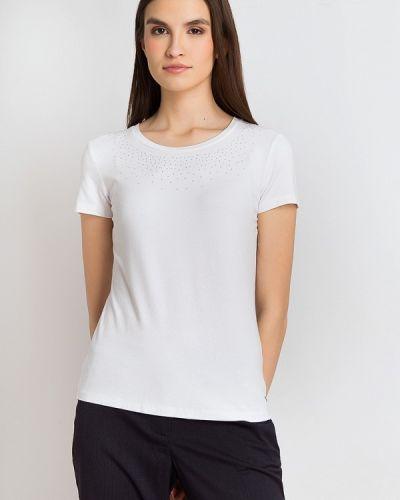 Белая футболка свободная Finn Flare