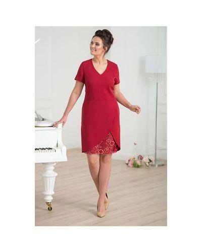 Платье с запахом с V-образным вырезом Merlis