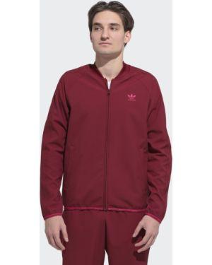 Текстильный красный костюм винтажный Adidas
