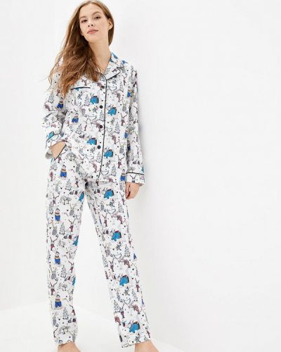 Пижамная белая пижама Pjmood