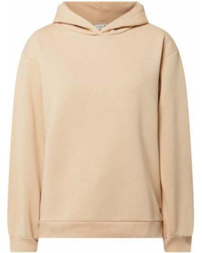 Bluza z kapturem - beżowa Cream