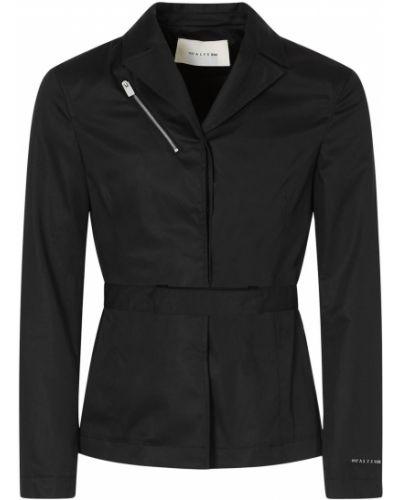Хлопковый черный пиджак с поясом 1017 Alyx 9sm
