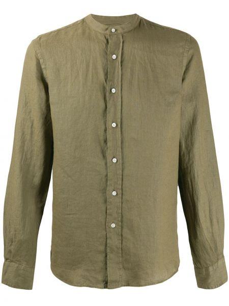 Koszula z długim rękawem wojskowy długa Aspesi