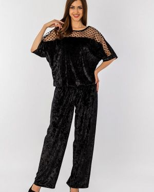 Брючный костюм черный S&a Style