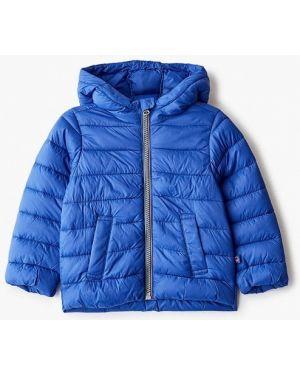 Куртка теплая синий United Colors Of Benetton