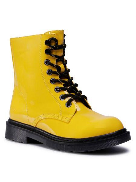 Botki - żółte Dockers By Gerli