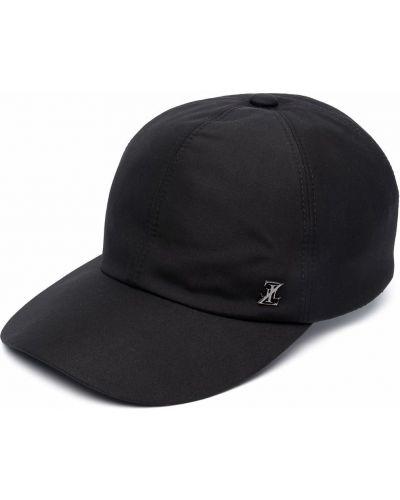 Хлопковая кепка - черная Zilli