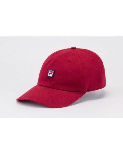 Czerwona czapka Fila