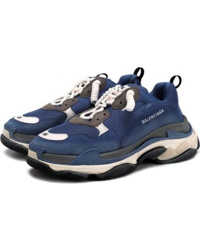 Кожаные кроссовки Balenciaga