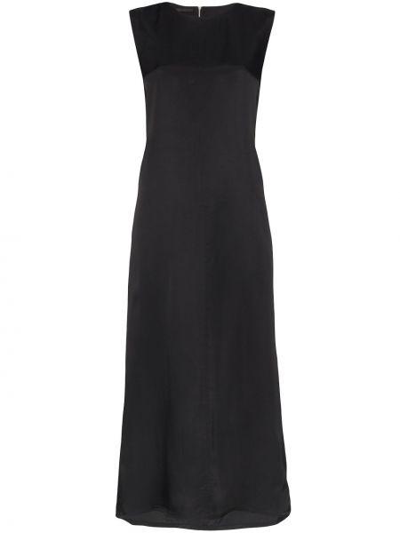 Платье миди с вырезом без рукавов Helmut Lang