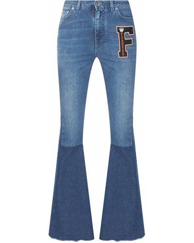 Расклешенные джинсы классические с аппликацией Dolce&gabbana